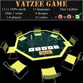 Yatzee Game