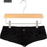 BUENO-Nin Shorts-Black - Maitreya, Slink Hourglass, & Belleza Freya
