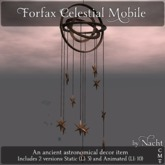*~ by Nacht ~ Forfax Celestial Mobile  (Wear to unpack)