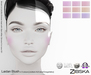 Zibska ~ Laidan Blush in 9 colors with Lelutka, LAQ, Catwa & Omega appliers and system tattoo layers