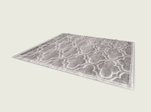 ValArt Gray rectangular rug
