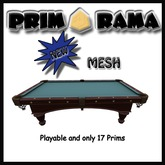 Playable Mesh Pool Table