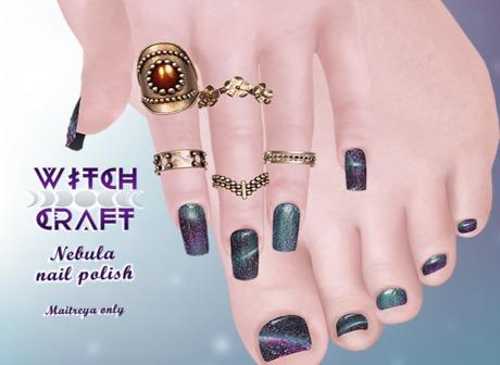 [WitchCraft] Nebula Nail Polish