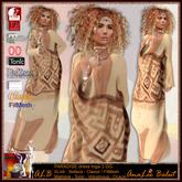 ALB PARADISE dress 3 DG (DEMO MESH) - AnaLee Balut