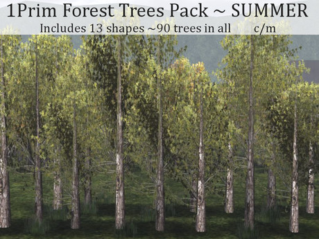 LOVE - 1 PRIM FOREST PACK - SUMMER - ADD ME