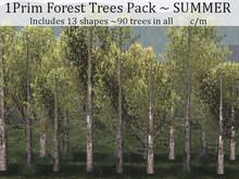 LOVE - 1 PRIM FOREST PACK - SUMMER