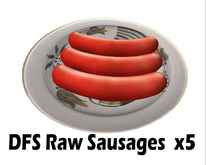 DFS Raw Sausages