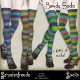 Schadenfreude Bawdy Socks (Marketplace Exclusive)