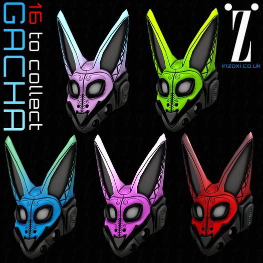 [inZoxi] - Fox Gear Helmet - Playable GACHA