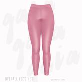 Gaia - Overall Leggings PINK