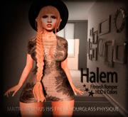 zOOm - Halem Romper Fitted Mesh - Maitreya, Venus, Isis, Freya, Hourglass, Physique