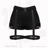 Gaia - Raeyel Shorts BLACK