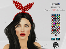 [SuXue Mesh] FATPACK Bendis Headband With HUD cat paw print Lace jeans skull polka dots gold silver lgbt fabric Resize