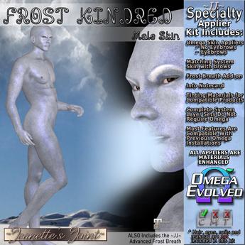 ~JJ~ Frost Kindred Male Skin