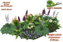 Lady's Garden - Flower Garden - Bright colors of summer 17 Prim