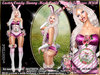 irrISIStible : EASTER CANDY BUNNY 2019 MESH OUTFIT + 3 TEXTURES HUD