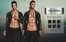 KiB Designs - Orson Open Jacket