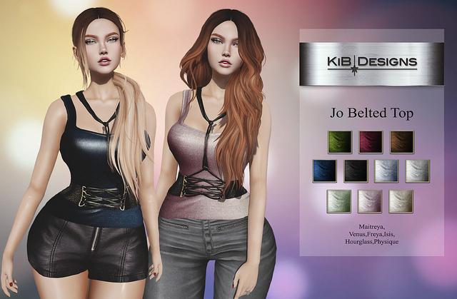 KiB Designs - Jo Belted Top DEMO