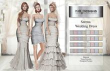 "KiB Designs - Serena Wedding Dress Unpack Box ""Wear"""