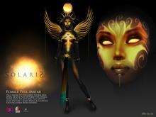 SOLARIS female, special Ed. +Fallen Gods Inc.