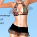 ~PP~ Sheer Spring Fling Lace Bow Tied Set