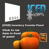 [ICED] Inventory Counter Panel