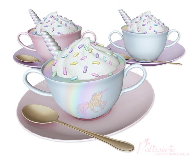 - Patisserie - Unicorn Dessert Drink