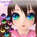 ~Dollypop~ Funky Anime Eyes for M3/M4/Venus/Chibi/Anime/Mars/Kemono 8 Colors