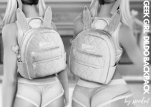 Spoiled - Geek Girl Backpack with Dild*o Giver Fatpack DEMO