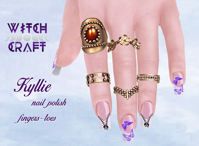 [WitchCraft] Kyllie Nail Polish