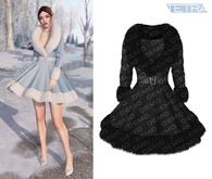 TETRA - Cara Fur Dress (DEMO)