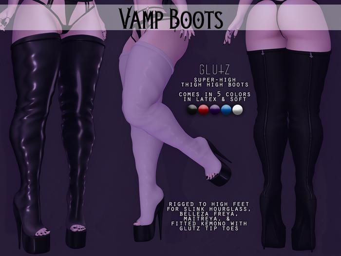 glutz . vamp boots