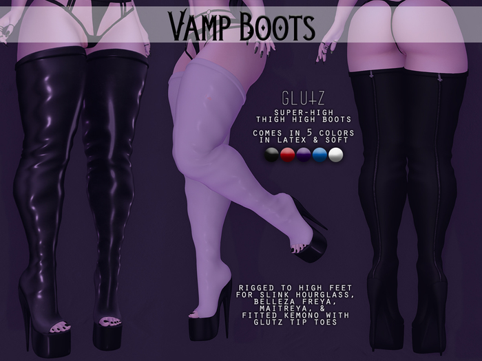 glutz . vamp boots (hud . add me)