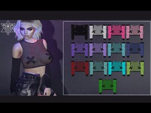 +Psycho Barbie+ [Obscurity Mesh Top] - Add Me