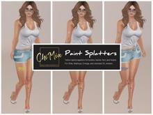 ChiMia:: Body Paint Splatters Pack