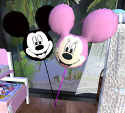 MICKEY AND MINNIE BALLOONS G&L