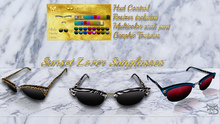 ^TD^ Sunset lover Sunglasses (w/resizer) FATPACK