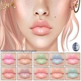 [LeLuck]Sweet Pastel Bubblegum Lipgloss(wear)