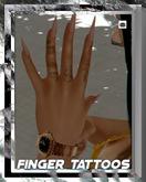 [XVI] Finger Tattoos