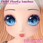 ~Dollypop~ Floofy Lashes for Utilizator M4 Chibi Head & M4 Anime Head