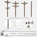 taikou / utility poles fatpack