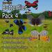 Butterflies - Pack 4 (Free-Flight)