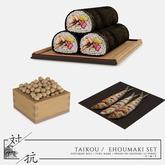 taikou / ehoumaki set