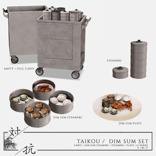 taikou / dim sum set