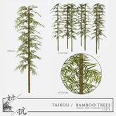 taikou / bamboo trees (boxed)