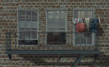 Lop backdrop Window Urban (box)