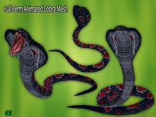 Full Perm Amazing Animated Attacking  King Cobra Mesh