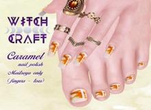 {WitchCraft} Caramel Nail Polish