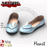 :DEADPOOL: HEART SHOE FULL PERM BOXD