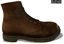 BUENO-Seattle Boots-Leather